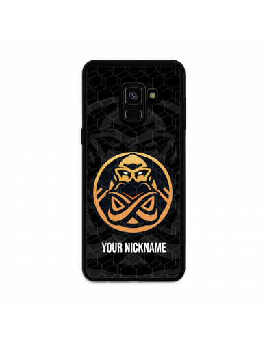 ENCE Badge black + Your...