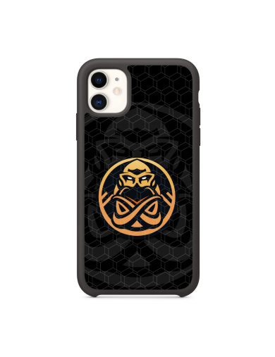 ENCE Badge black Phone Case